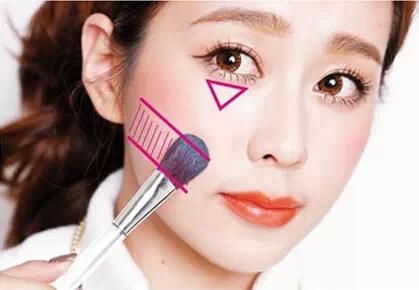 五款腮红画法,修饰脸型让妆容更美丽